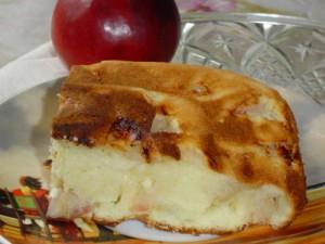 Сметанний яблучний пиріг  Сметанный яблочный пирог