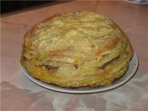 Торт із млинців Торт из блинов